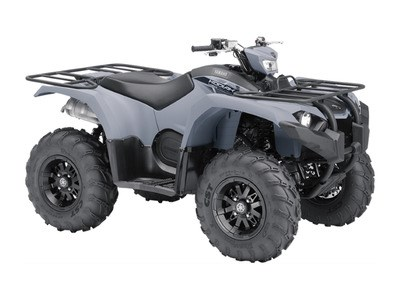 2018 Yamaha Kodiak 450 EPS Gray (aluminum mag wheels Photo 1 of 1