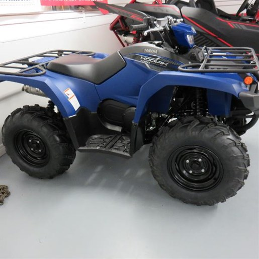 2018 Yamaha Kodiak 450 Yamaha Blue Photo 1 of 7