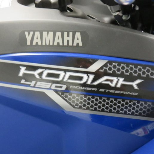 2018 Yamaha Kodiak 450 Yamaha Blue Photo 3 of 7