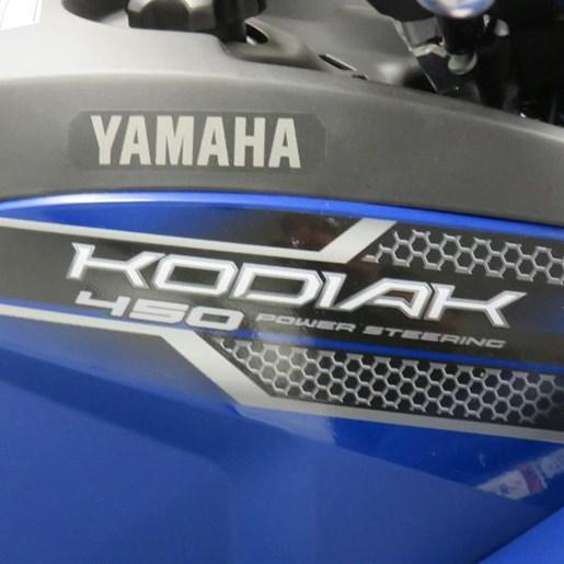 2018 Yamaha Kodiak 450 Yamaha Blue Photo 3 of 7