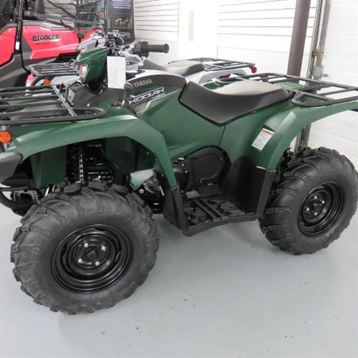 2018 Yamaha Kodiak 450 Green Photo 1 of 6