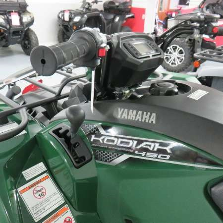 2018 Yamaha Kodiak 450 Green Photo 3 of 6