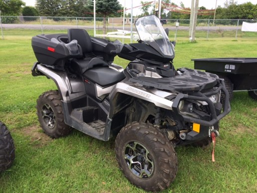 can am outlander 800 max xt 2014 used atv for sale in. Black Bedroom Furniture Sets. Home Design Ideas