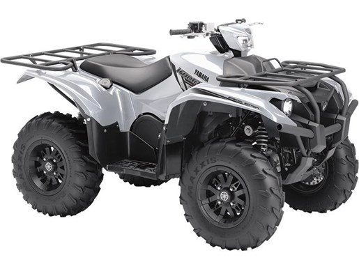 2018 Yamaha Kodiak 700 EPS SE Light Metallic Gray Photo 1 of 1
