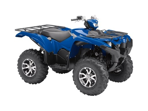 2017 Yamaha Grizzly EPS Steel Blue Photo 2 of 3