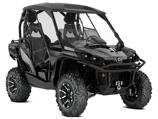 can am commander limited triple black 2018 new atv for sale in fort mcmurray alberta. Black Bedroom Furniture Sets. Home Design Ideas
