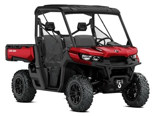 2018 Can-Am Defender XT HD10 Intense Red Photo 1 of 1