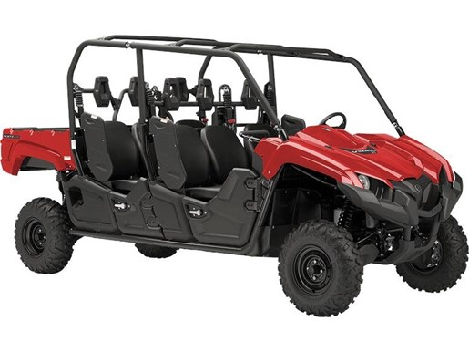 2018 Yamaha Viking VI EPS Red Photo 1 of 1