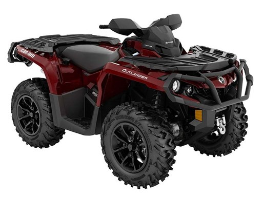 2018 Can-Am Outlander XT 650 Intense Red Photo 1 of 1