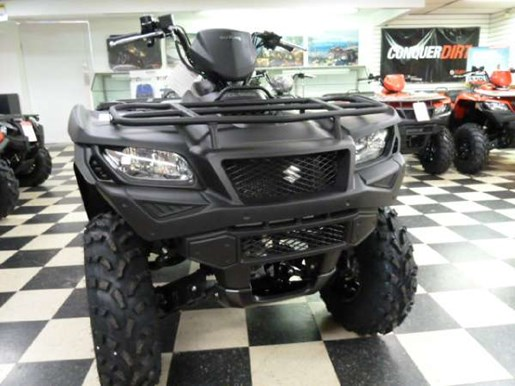2018 suzuki kingquad 750axi. exellent 750axi 2018 suzuki kingquad 750axi power steering matte black photo 2 of 6 in suzuki kingquad 750axi