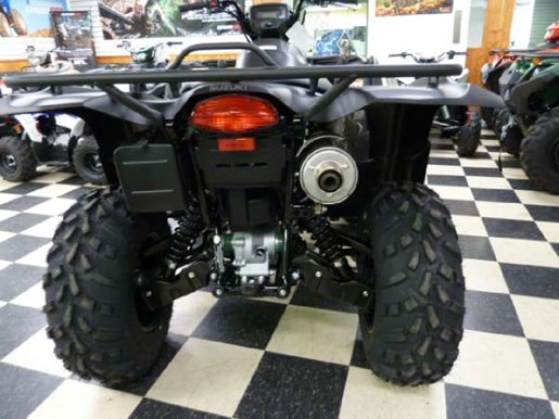 2018 suzuki kingquad 750. brilliant 2018 2018 suzuki kingquad 750axi power steering matte black photo 4 of 6 for suzuki kingquad 750 m