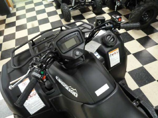 2018 Suzuki KingQuad 750AXi Power Steering Matte Black Photo 5 of 6