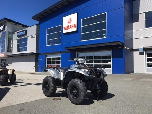 2018 Yamaha Kodiak 700 EPS SE Light Metallic Gray Photo 1 of 4