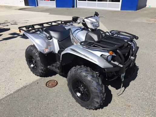 2018 Yamaha Kodiak 700 EPS SE Light Metallic Gray Photo 2 of 4