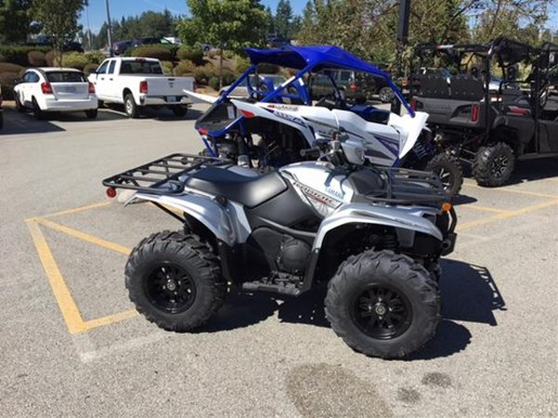 2018 Yamaha Kodiak 700 EPS SE Light Metallic Gray Photo 3 of 4