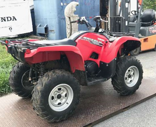 Yamaha grizzly 550 fi eps 2014 used atv for sale in for 2014 yamaha grizzly 550 for sale