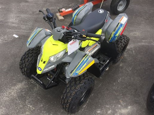 2017 Polaris Outlaw 50 Lime Squeeze Photo 1 of 2
