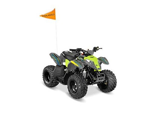 2017 Polaris Outlaw 50 Lime Squeeze Photo 2 of 2