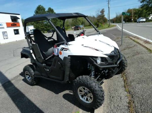 Yamaha Dealers Ontario >> Yamaha Wolverine R-Spec EPS Bluish White 2018 New ATV for Sale in Fenwick, Ontario