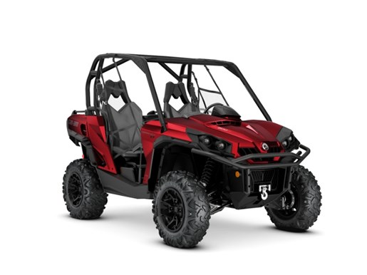 2018 Can-Am Commander™ XT™ 800R Intense Red Photo 1 of 2
