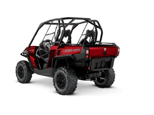 2018 Can-Am Commander™ XT™ 800R Intense Red Photo 2 of 2