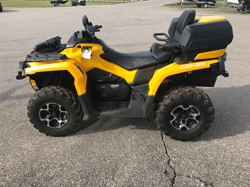 can am outlander 570 max xt 2016 used atv for sale in ayr. Black Bedroom Furniture Sets. Home Design Ideas