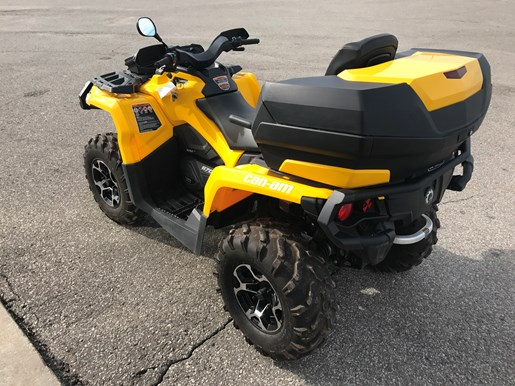 can am outlander 570 max xt 2016 used atv for sale in ayr ontario. Black Bedroom Furniture Sets. Home Design Ideas