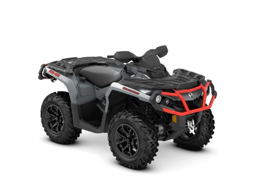 2018 Can-Am Outlander™ XT™ 650 Brushed Aluminum & Can-Am Red Photo 1 of 2
