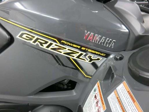 2018 Yamaha Kodiak 700 EPS SE Light Metallic Gray Photo 3 of 6