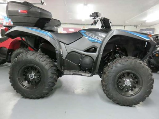 2018 Yamaha Grizzly EPS Gray Photo 1 of 7