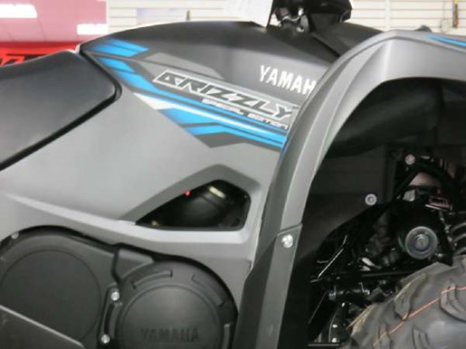 2018 Yamaha Grizzly EPS Gray Photo 2 of 7