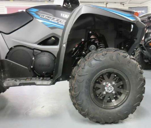 2018 Yamaha Grizzly EPS Gray Photo 3 of 7