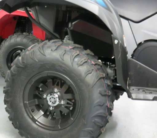 2018 Yamaha Grizzly EPS Gray Photo 4 of 7