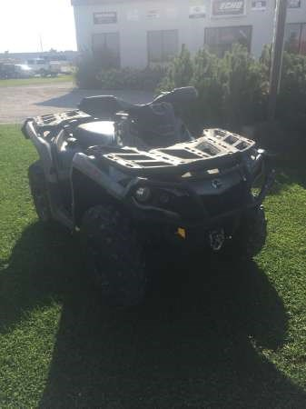 2015 Can-Am Outlander XT 650 Photo 1 of 5
