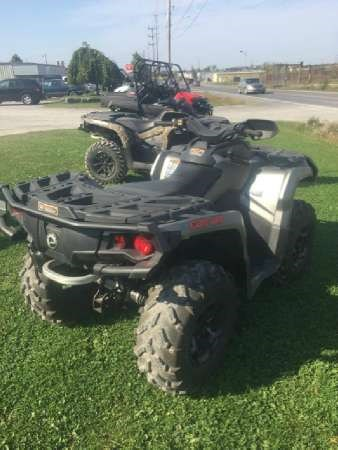 2015 Can-Am Outlander XT 650 Photo 4 of 5