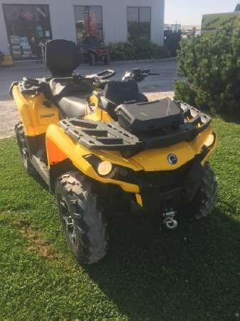 2015 Can-Am Outlander MAX XT 500 Photo 1 of 5