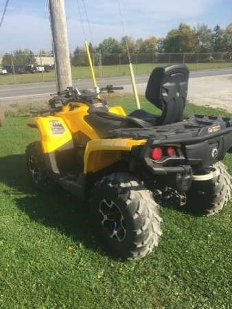 2015 Can-Am Outlander MAX XT 500 Photo 3 of 5