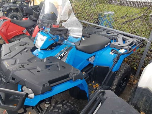 2016 Polaris Sportsman 570 EPS Velocity Blue Photo 5 of 5