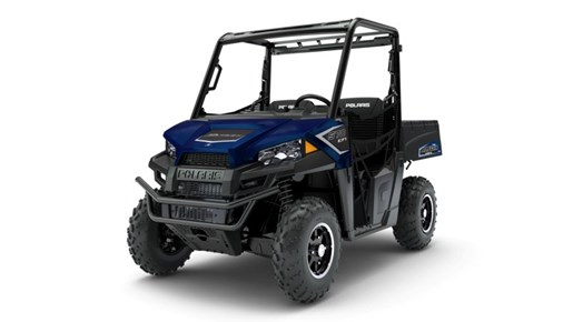 2018 Polaris Ranger 570 EPS Navy Blue Metallic Photo 2 of 2