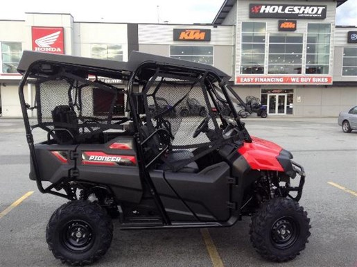 honda pioneer 700 4 2018 new atv for sale in langley serving greater vancouver british columbia. Black Bedroom Furniture Sets. Home Design Ideas