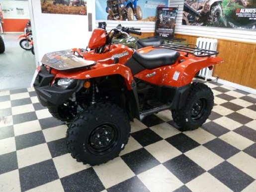 2018 Suzuki KingQuad 500AXi Power Steering Red Photo 1 of 4