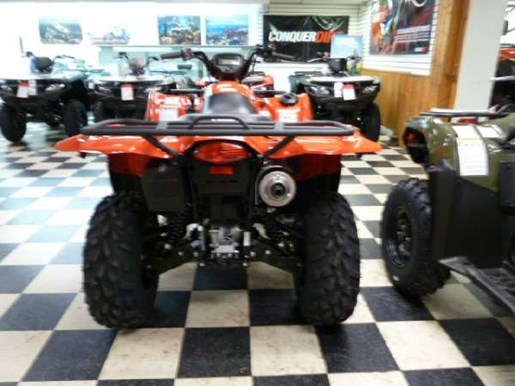 2018 Suzuki KingQuad 500AXi Power Steering Red Photo 3 of 4