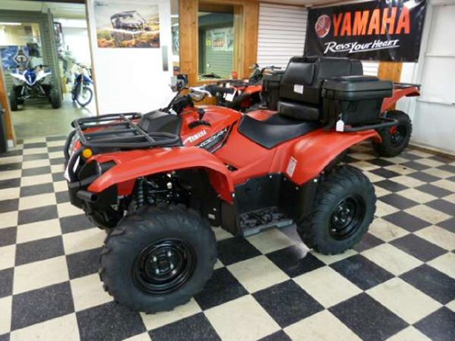 Yamaha kodiak 700 red 2018 new atv for sale in fenwick for Yamaha dealers in my area