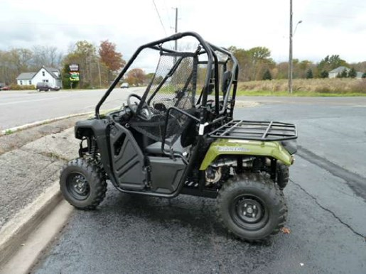 honda pioneer 500 trail scout green 2017 new atv for sale in fenwick ontario. Black Bedroom Furniture Sets. Home Design Ideas