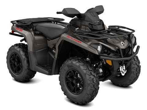 2018 Can-Am Outlander XT 570 Pure Magnesium Metallic Photo 1 of 1