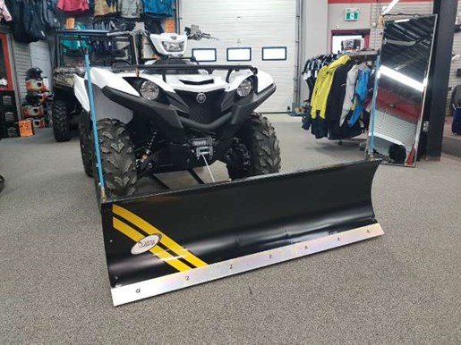 2018 Yamaha Grizzly EPS White Photo 1 of 4