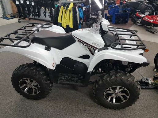 2018 Yamaha Grizzly EPS White Photo 2 of 4