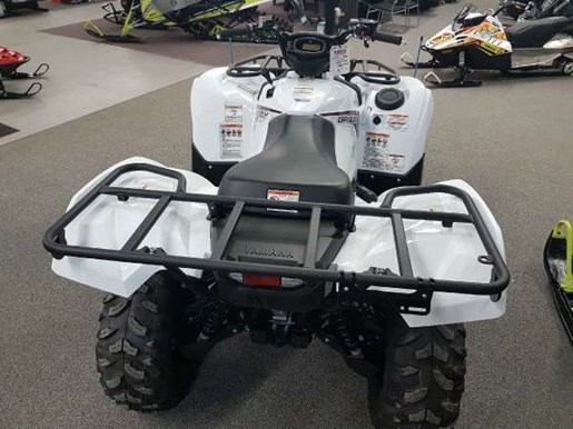 2018 Yamaha Grizzly EPS White Photo 4 of 4