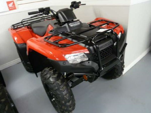 2018 Honda TRX420 Rancher DCT IRS EPS Red Photo 1 of 3