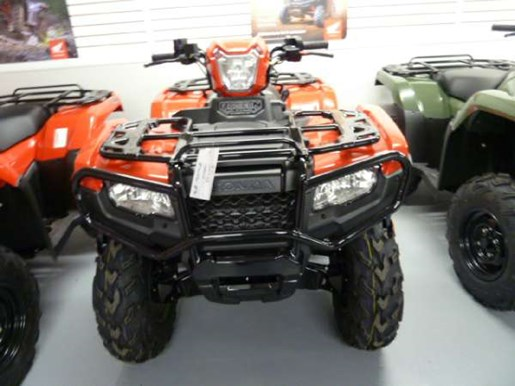 2018 Honda TRX500 Rubicon DCT IRS EPS Red Photo 1 of 3